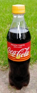 Coca-Cola Peach 500ml - paleta