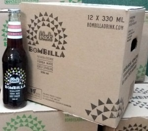 BOMBILLA Black 330ml - karton