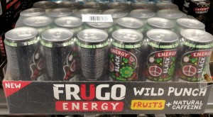 Frugo Energy Wild Punch Black 330ml - karton