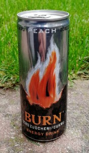 BURN Energy Drink Zero 250ml - paleta