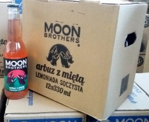 Moon Brothers Arbuz, Mięta 330ml - paleta